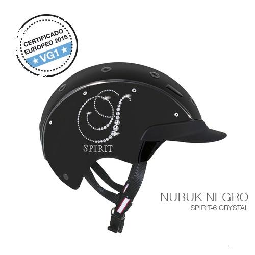 casco equitación spirit crystal