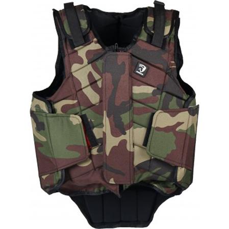 Bodyprotector hipica niños camuflaje.