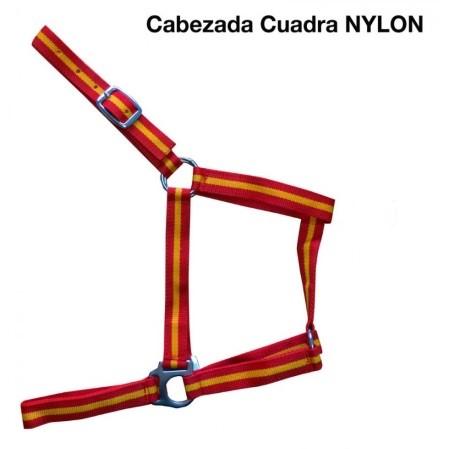 cabezada cuadra nylon