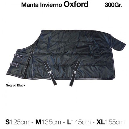 manta invierno caballos oxford