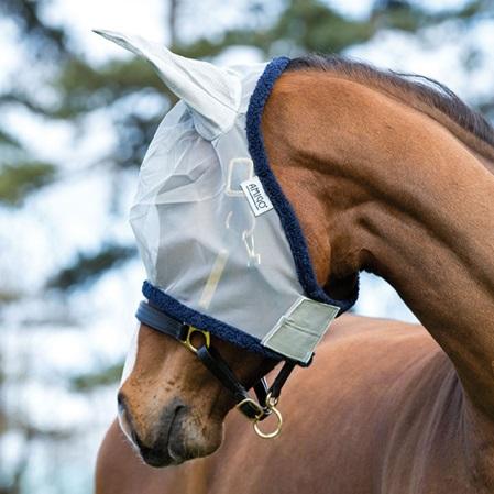 Mascara antimoscas caballos Amigo.