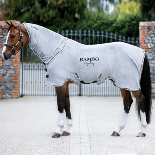 Mantas caballos secado