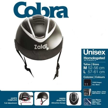 casco hipica zaldi cobra