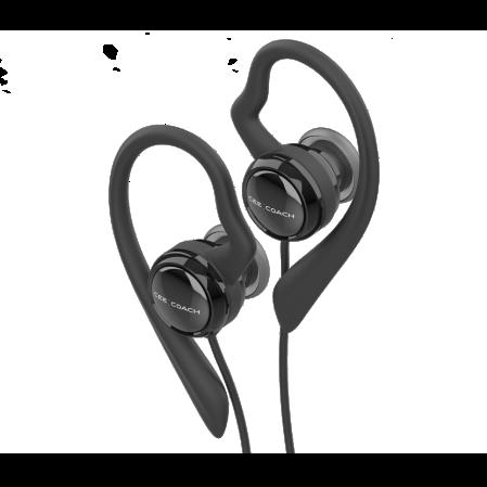 auriculares ceecoach con soporte