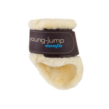 Young Jump Vento borreguillo velcro marron.