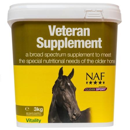 Suplemento caballos veteranos.