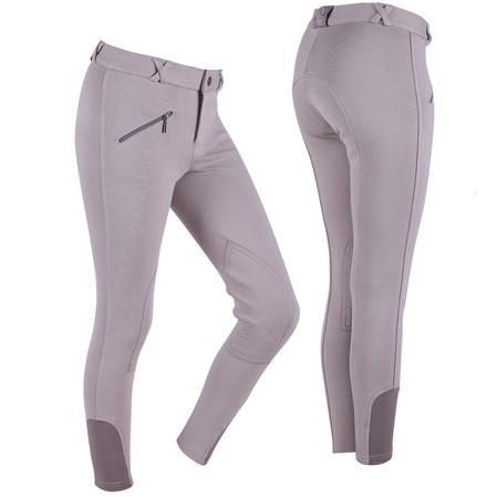 Open pantalones montar debutante.